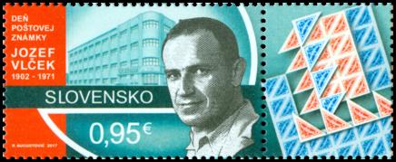 Deň poštovej známky: Jozef Vlček (1902 – 1971)