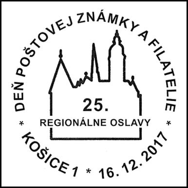 Deň poštovej známky a filatelie - 25. regionálne oslavy