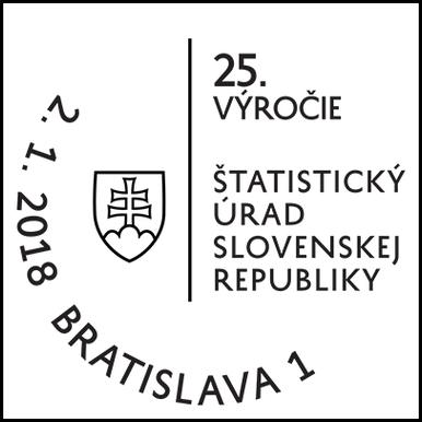 Štatistický úrad Slovenskej republiky - 25. výročie