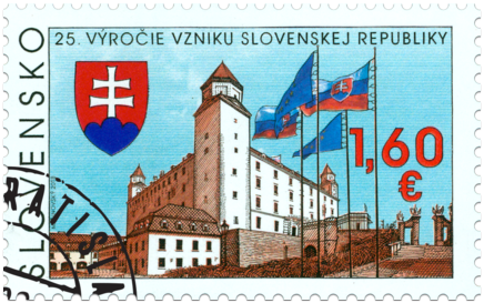 The 25th Anniversary of the Establishment of the Slovak Republic