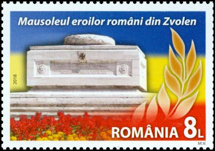 Spoločné vydanie s Rumunskom : Cintorín rumunskej kráľovskej armády vo Zvolene