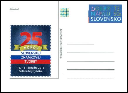 25 rokov slovenskej známkovej tvorby