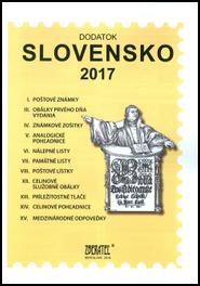 Dodatok katalógu Slovensko 2017
