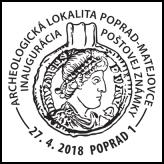Inaugurácia poštovej známky Archeologická lokalita Poprad-Matejovce