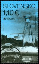 EUROPA 2018: SNP Bridge in Bratislava