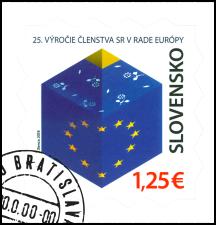 25. výročie členstva SR v Rade Európy