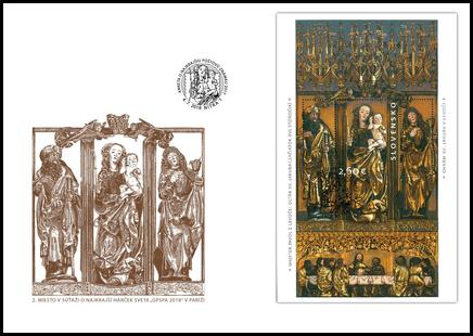 Špeciálna obálka: Oltár sv. Jakuba v Chráme sv. Jakuba v Levoči