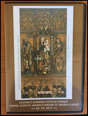 DVD -  UMENIE: Oltár sv. Jakuba v Chráme sv. Jakuba v Levoči