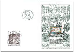 Special Cover - Joint Issue with the Vatican City State: the 1150th Anniversary of the Recognition of the Slavic Liturgical Language