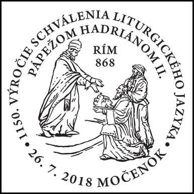 1150. výročie schválenia liturgického jazyka pápežom Hadriánom II