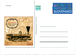 170th Anniversary of railways in territory of Slovak Republic