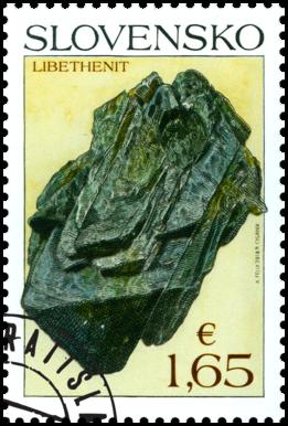 Ochrana prírody: Slovenské minerály - libethenit
