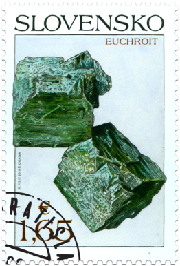 Ochrana prírody: Slovenské minerály - euchroit