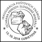 Inaugurácia poštových známok Ochrana prírody: Slovenské minerály