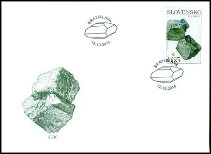 Nature Protection: Slovak Minerals - Euchroite
