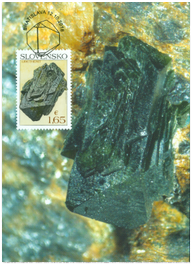Nature Protection: Slovak Minerals - Libethenite