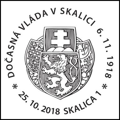 Dočasná vláda v Skalici 6.11.1918