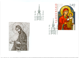 ART: The Icon of Krásny Brod, The Mother of God
