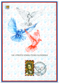 The 100th Anniversary of the Establishment of Czecho-Slovakia