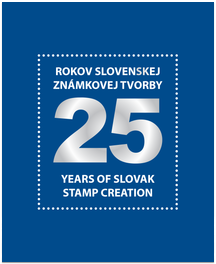 "Publication ""25 Years of Slovak Stamps Creation (with stamps)"