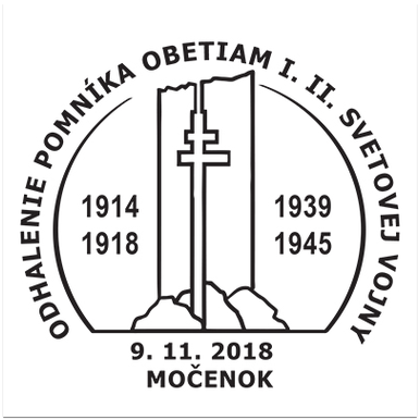 Odhalenie pomníka obetiam 1. a 2. svetovej vojny