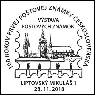 100 rokov prvej poštovej známky Československa - výstava
