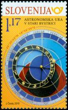 Spoločné vydanie so Slovinskom: Slovenský orloj v Starej Bystrici