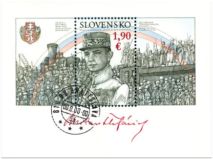 The Czechoslovak Legions and M. R. Štefánik