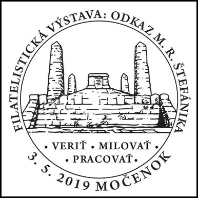 Filatelistická výstava: Odkaz M. R. Štefánika