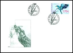EUROPA 2019: Rare Birds - Coraccas gramulus