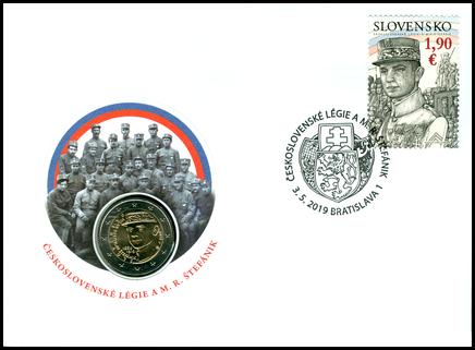 Numismatic Cover: The Czechoslovak Legions and M. R. Štefánik
