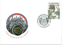Numismatic Cover: The Czechoslovak Legions and M. R. Štefánik