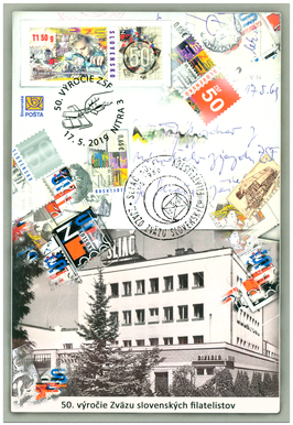 50th Anniversary of the Union of Slovak Philatelists