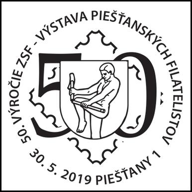 50. výročie ZSF - výstava Piešťanských filatelistov