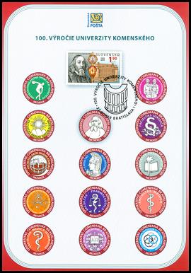 100. výročie Univerzity Komenského