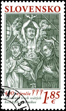 400. výročie mučeníckej smrti troch svätých košických mučeníkov