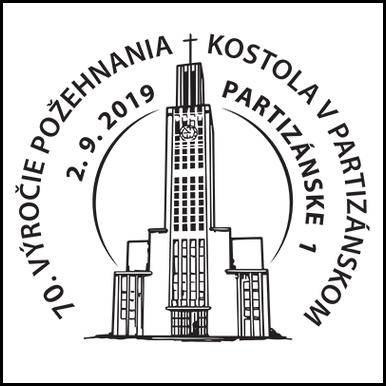 70. výročie požehnania kostola v Partizánskom