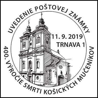 Uvedenie poštovej známky 400.výročie smrti košických mučeníkov
