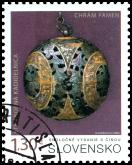 Spoločné vydanie s Čínskou ľudovou republikou: Strieborná kadidelnica z chrámu Famen