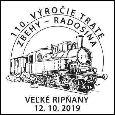 110. výročie trate Zbehy - Radošina