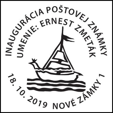 Inaugurácia poštovej známky Umenie: Ernest Zmeták