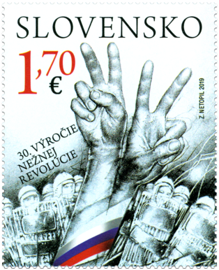 Joint Issue with Czech Republic: 30th Anniversary of Velvet Revolution