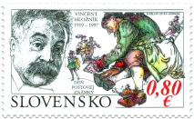 Postage Stamp Day: Vincent Hložník (1919 – 1997)