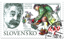 The Day of Postage Stamp: Vincent Hložník (1919 – 1997)