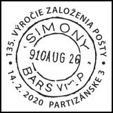 135. výročie založenie pošty