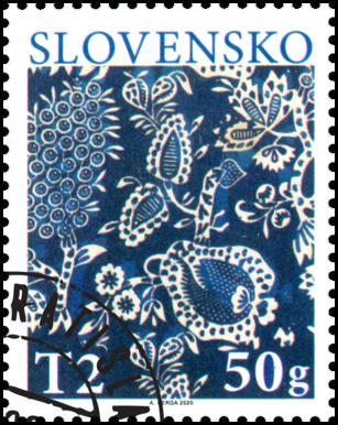 Veľká noc 2020: Tradičná slovenská modrotlač