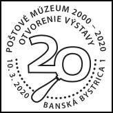 Otvorenie výstavy 20 rokov Poštového múzea