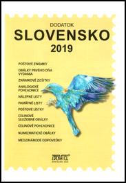 Dodatok katalógu Slovensko 2019
