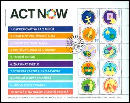 Spoločné vydanie s Talianskom: MILANOFIL 2020 – ACT NOW