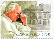 Joint Issue with Poland: The 100th Anniversary of the Birth of Pope John Paul II (1920 –  2005)